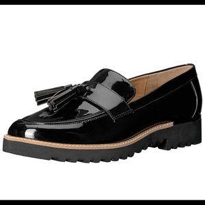 FRANCO SARTO Carolynn platform loafer black 7.5